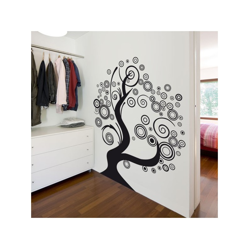 Vinilo decorativo original un rbol pop para pared for Vinilos decorativos arboles