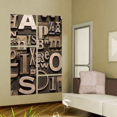 Fotos de vinilos decorativos originales quotes for Phrases murales