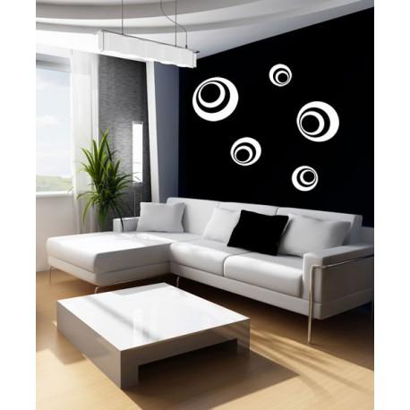 kit 5 círculos D