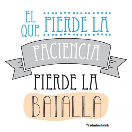 Frases - paciencia