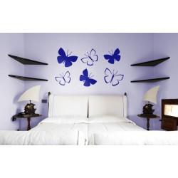 Kit 6 mariposas