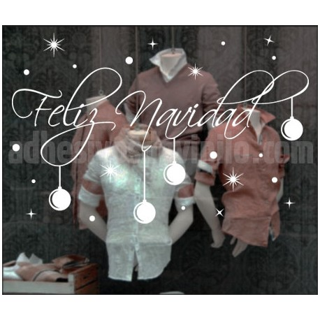 vinilos feliz navidad 1