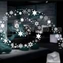 vinilo estrellas navidad circular