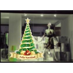 Vinilos navidad - feliz navidad
