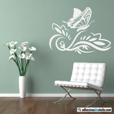 Reflejo mariposa