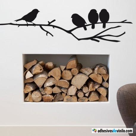 Pájaros en la rama