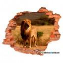 León solitario