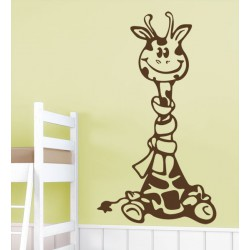 La jirafa feliz