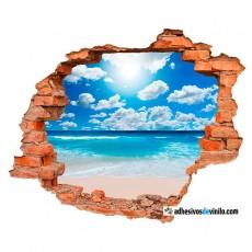 Vinilos 3d - playa