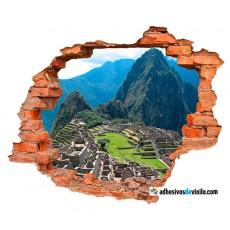 vinilos 3d - Machu Picchu