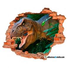 Vinilos 3d - dinosaurio