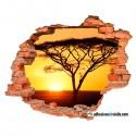 Paseo por la sabana africana