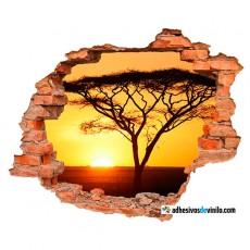 Vinilos 3d - sabana africana