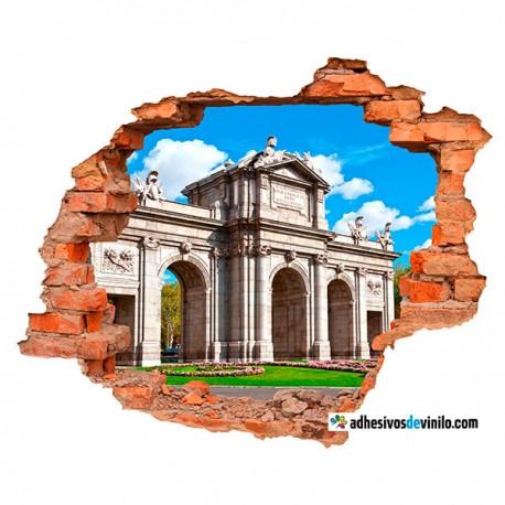 Vinilos 3d - Puerta de Alcalá
