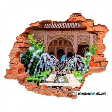 Vinilos 3d - Fuente Alhambra