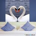 Los cisnes enamorados
