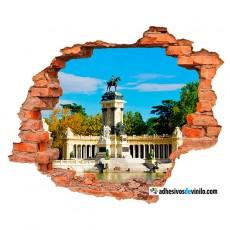 Vinilos 3d - Parque del Retiro