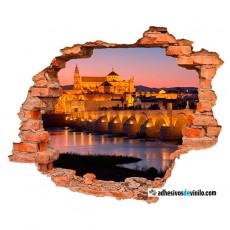 Vinilos 3d - Puente romano de Córdoba