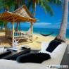 Cabaña en la playa