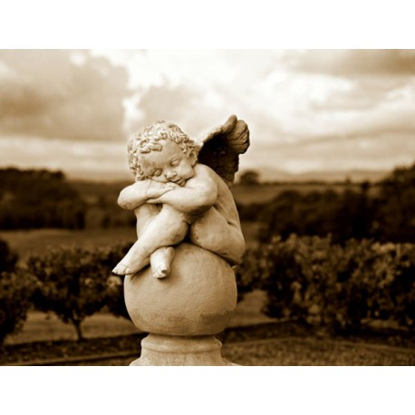 Escultura angelito