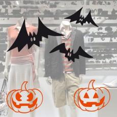 3 murciélagos halloween