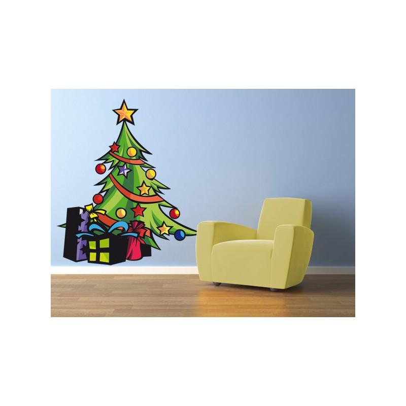 rbol de navidad con regalos - Dibujos De Rboles De Navidad