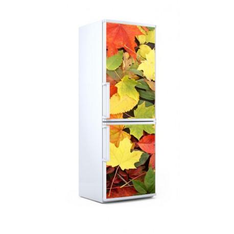 vinilo nevera hojas