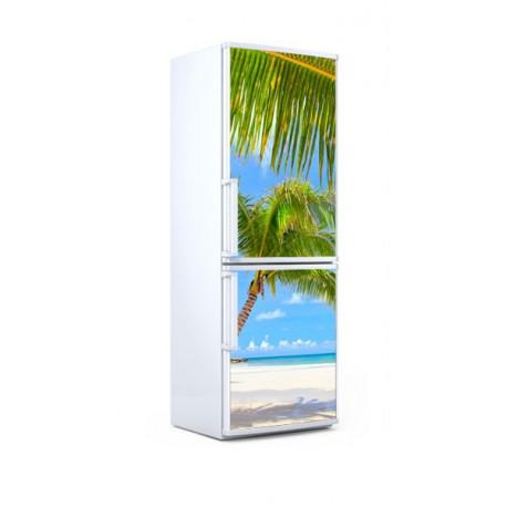 vinilo nevera palmeras