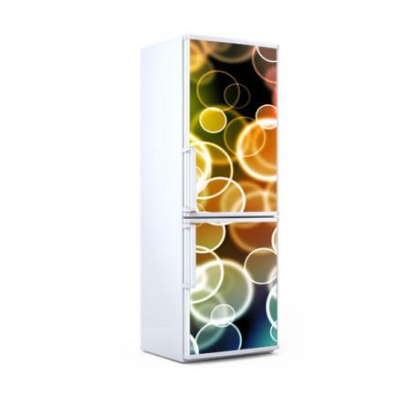 Vinilos Decorativos Burbujas.Vinilo Nevera Burbujas De Colores