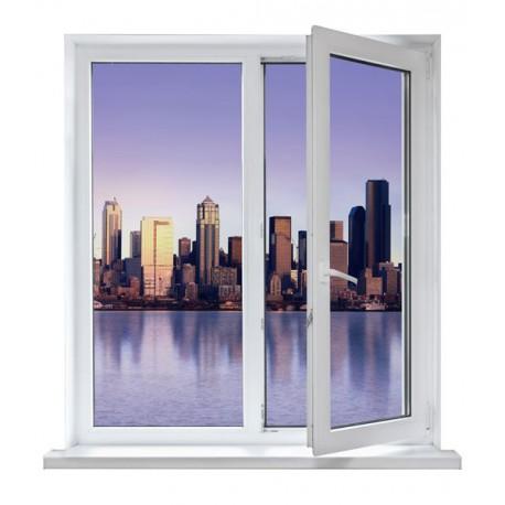 vinilos ventanas - ciudad