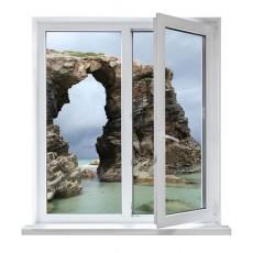 vinilos ventanas - roca