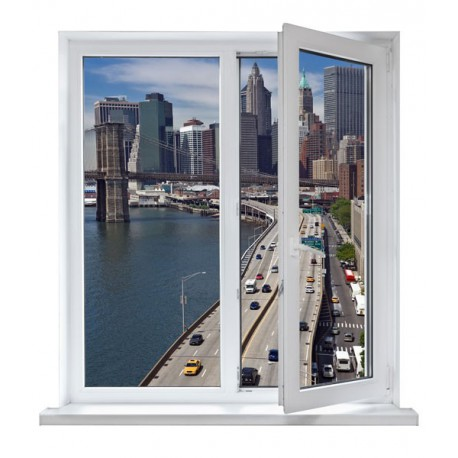 vinilos ventanas - ciudades