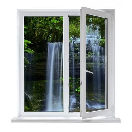 vinilos ventanas - cascada
