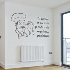 vinilos cocinas - cocinero