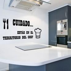 vinilos cocina - territorio chef