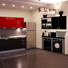 vinilos cocina - mueble inferior