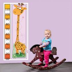 Medidor jirafa niña