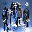 vinilos navidad - estrellas
